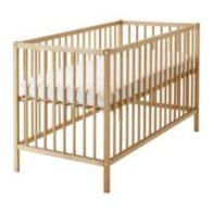 Кроватка детская буковая