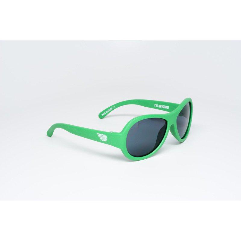 Солнцезащитные очки для детей Babiators — Время летит (зелёные)